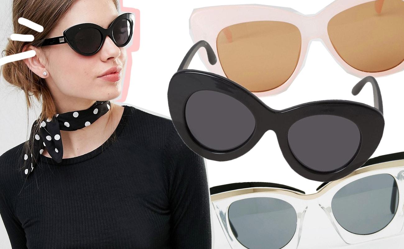 Occhiali da sole da gatta in plastica impulse for Occhiali da sole montatura in legno