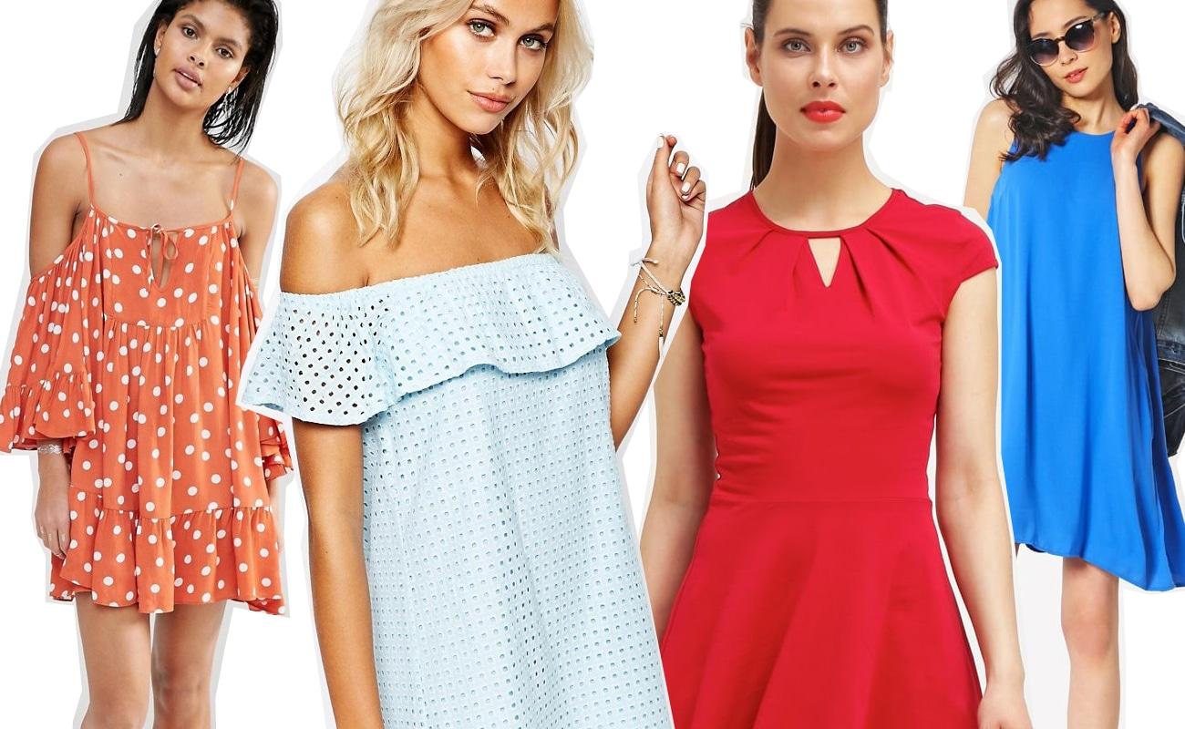 30 vestiti corti per l'estate 2016 tra colore, pois e fiori