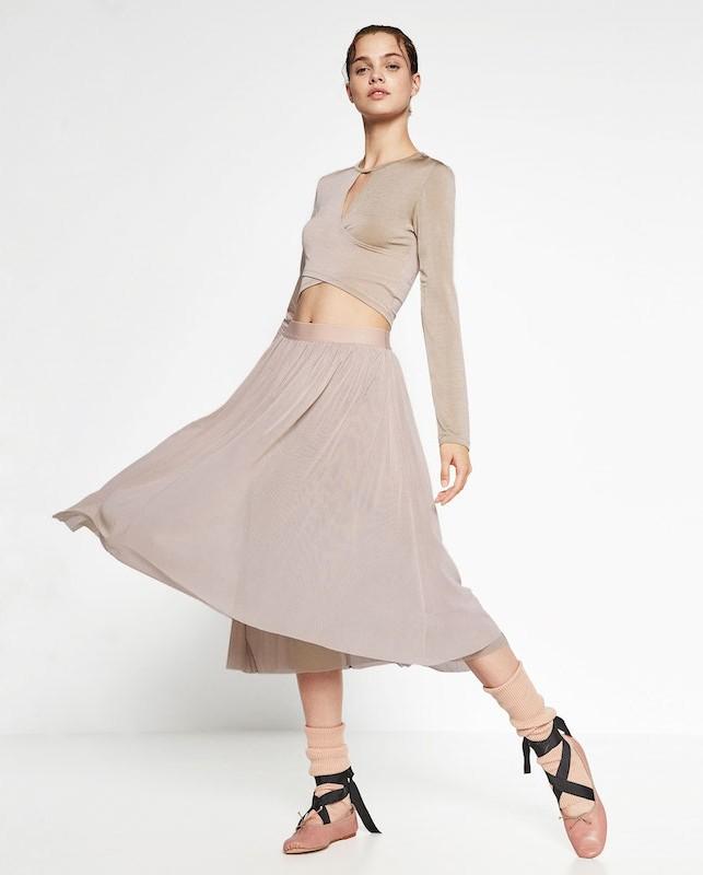 Zara Ballet collection, la danza ispira la nuova linea gymwear