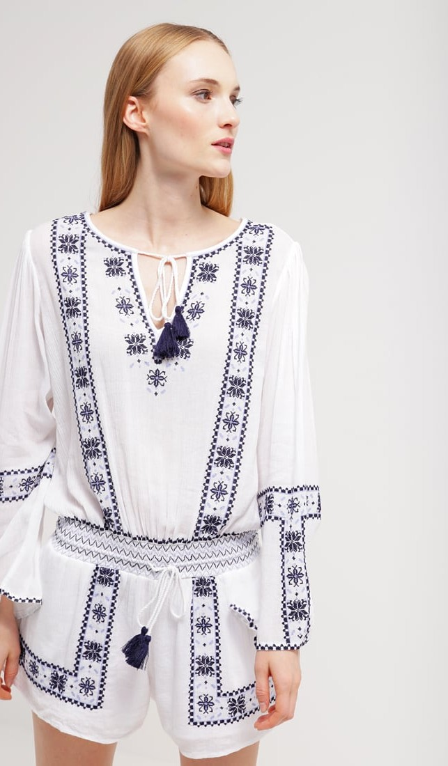Mini jumpsuit stile boho chic