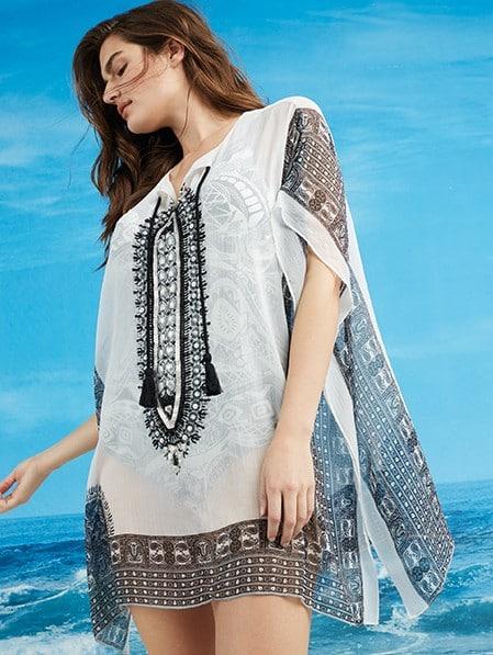 I costumi Fiorella Rubino tra stampe tropical e paisley