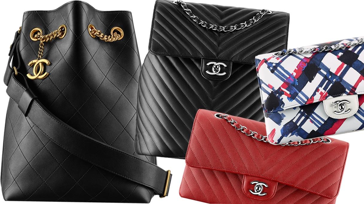 Chanel per l'autunno 2016 punta su zainetti e minibag