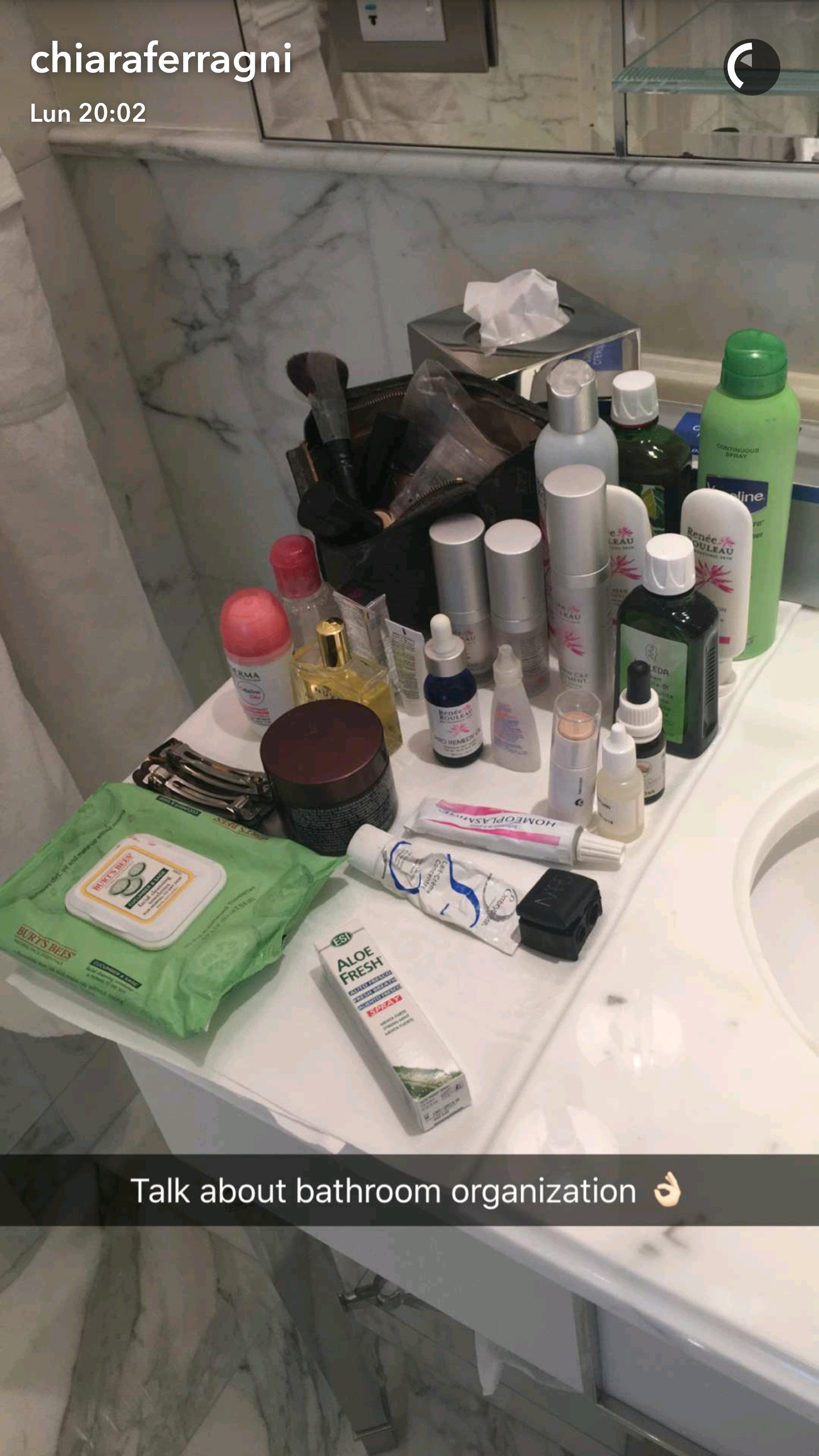 chiara ferragni beauty routine