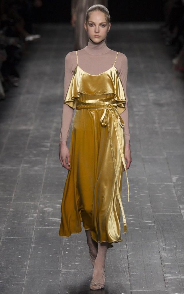 Tendenze moda per l'autunno/inverno 2016-2017: velluto