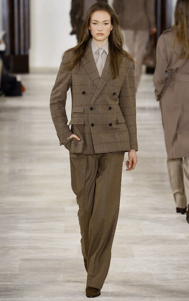 Tendenze moda per l'autunno/inverno 2016-2017: stile mannish