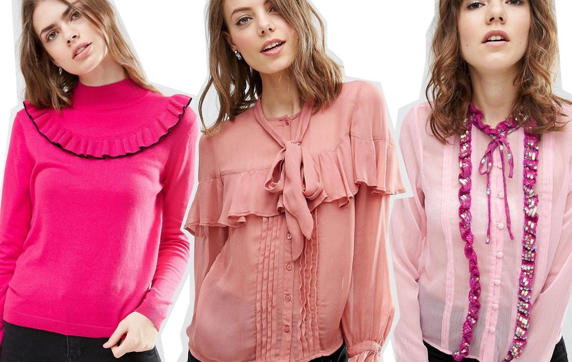 Love it, want it! Bluse e maglioni con balze e ruches
