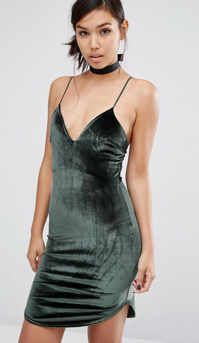 SLIP DRESS DI VELLUTO