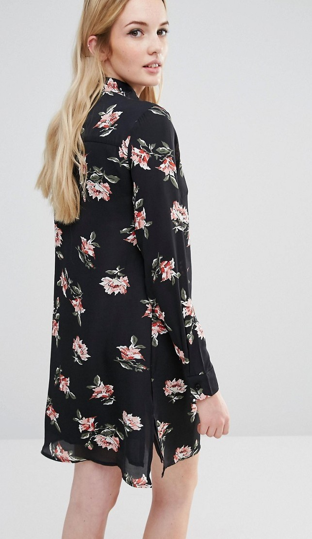 SHIRT DRESS A FIORI
