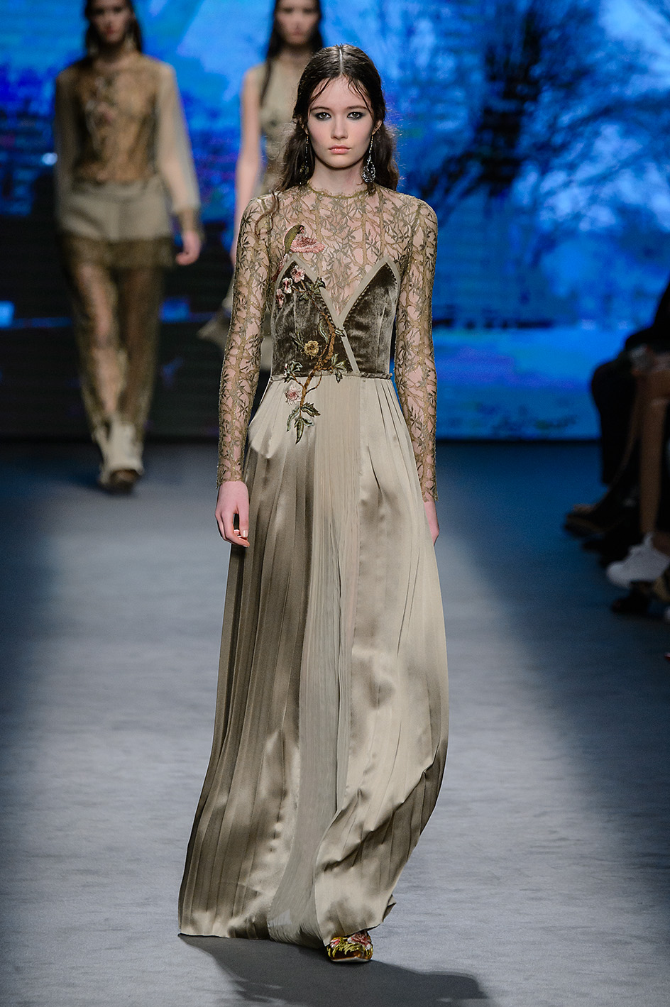 Milano Fashion week Autumn Winter 2016-17 Alberta Ferretti show