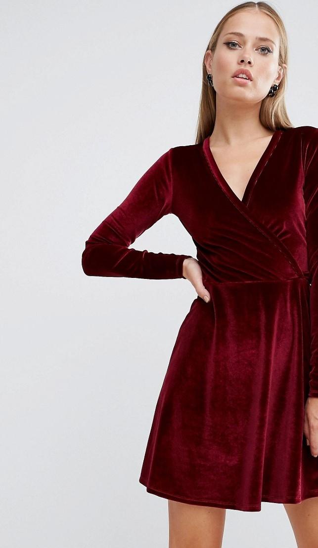 cb74153bda8b Vestiti Lunghi Eleganti Velluto ~ Velluto autunno come indossarlo impulse  ...