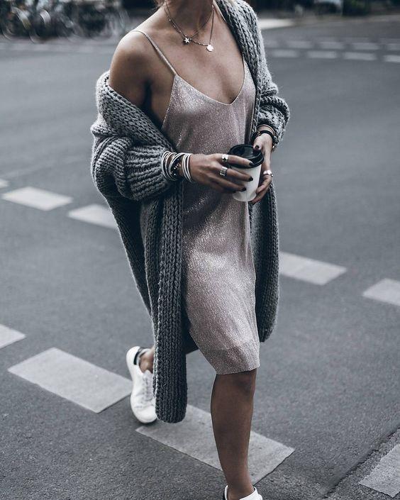 Vestiti in maglia morbida per l'autunno 2016: a coste, oversize e colorati