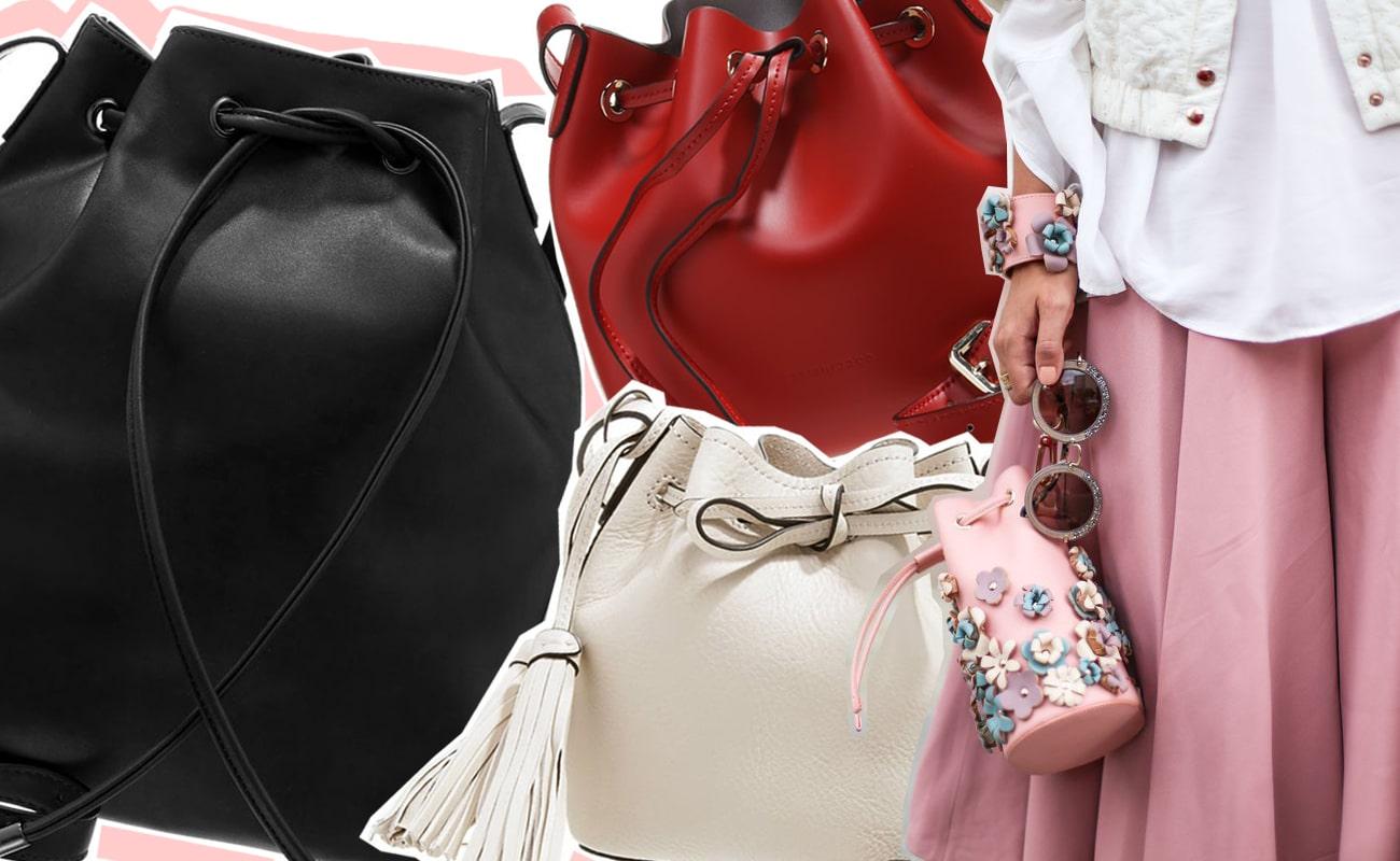 Bucket bag mania: 12 borse a secchiello