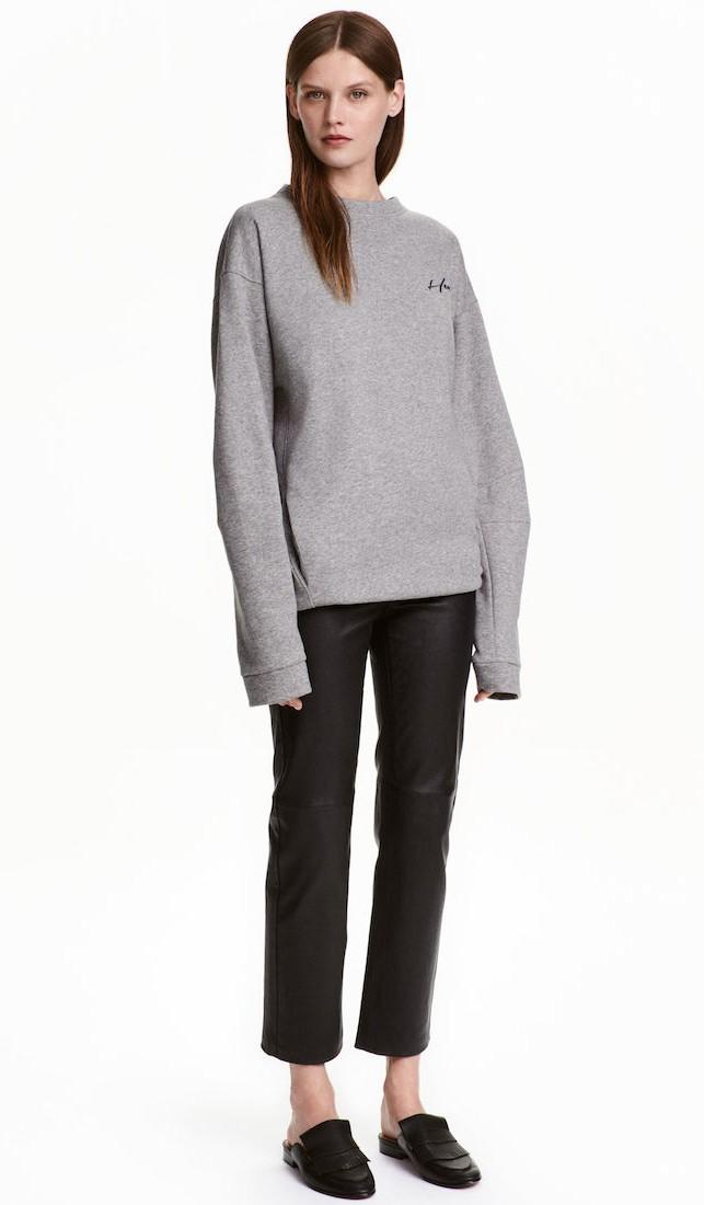 H&M Premium Quality: pantaloni in pelle