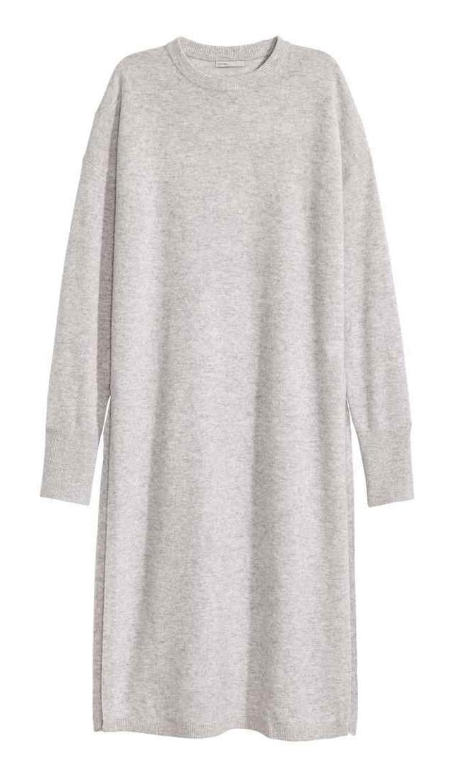 H&M Premium Quality: Long cashmere jumper