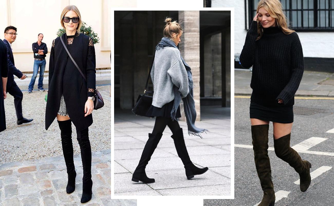 Stivali sopra il ginocchio, come indossarli per essere cool
