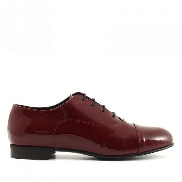 francesine scarpe vernice