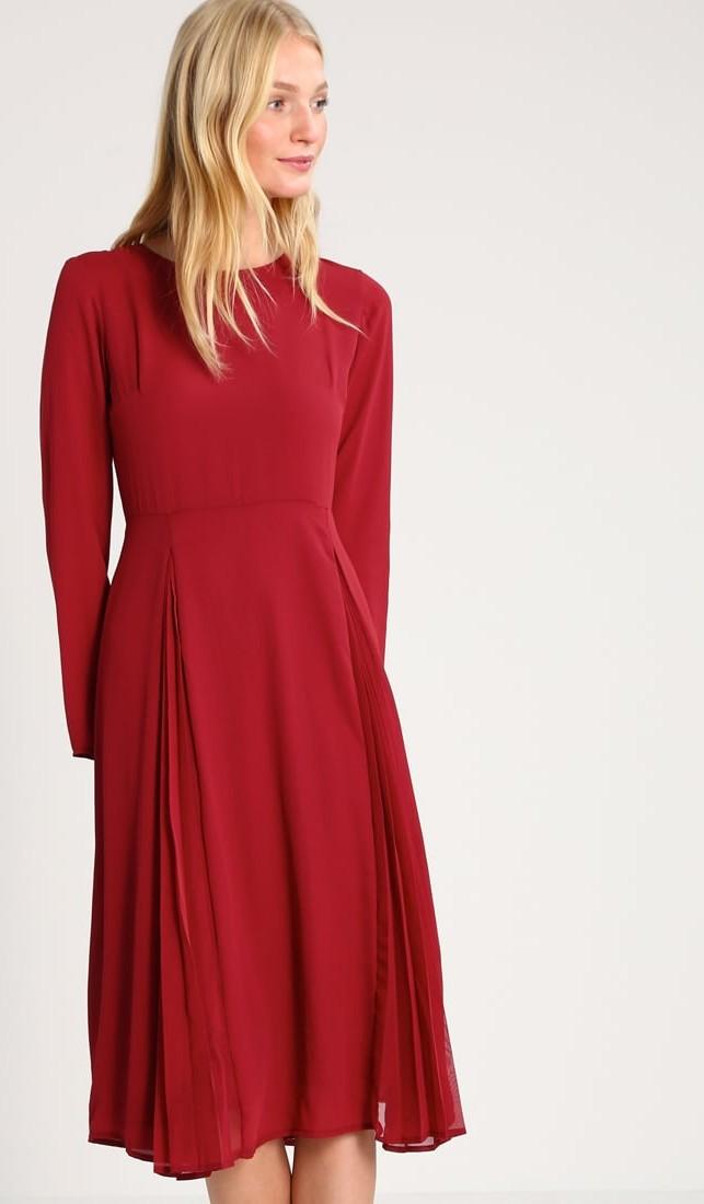 Vestito rosso natalizio