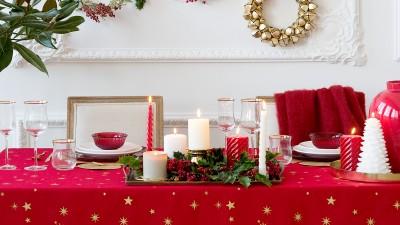 Natale 2016: 60 idee per apparecchiare la tavola di Natale