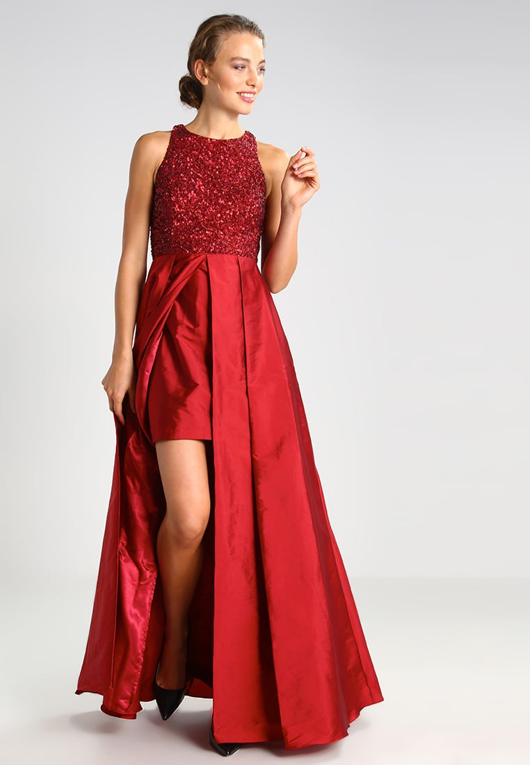 vestito rosso natale 2016