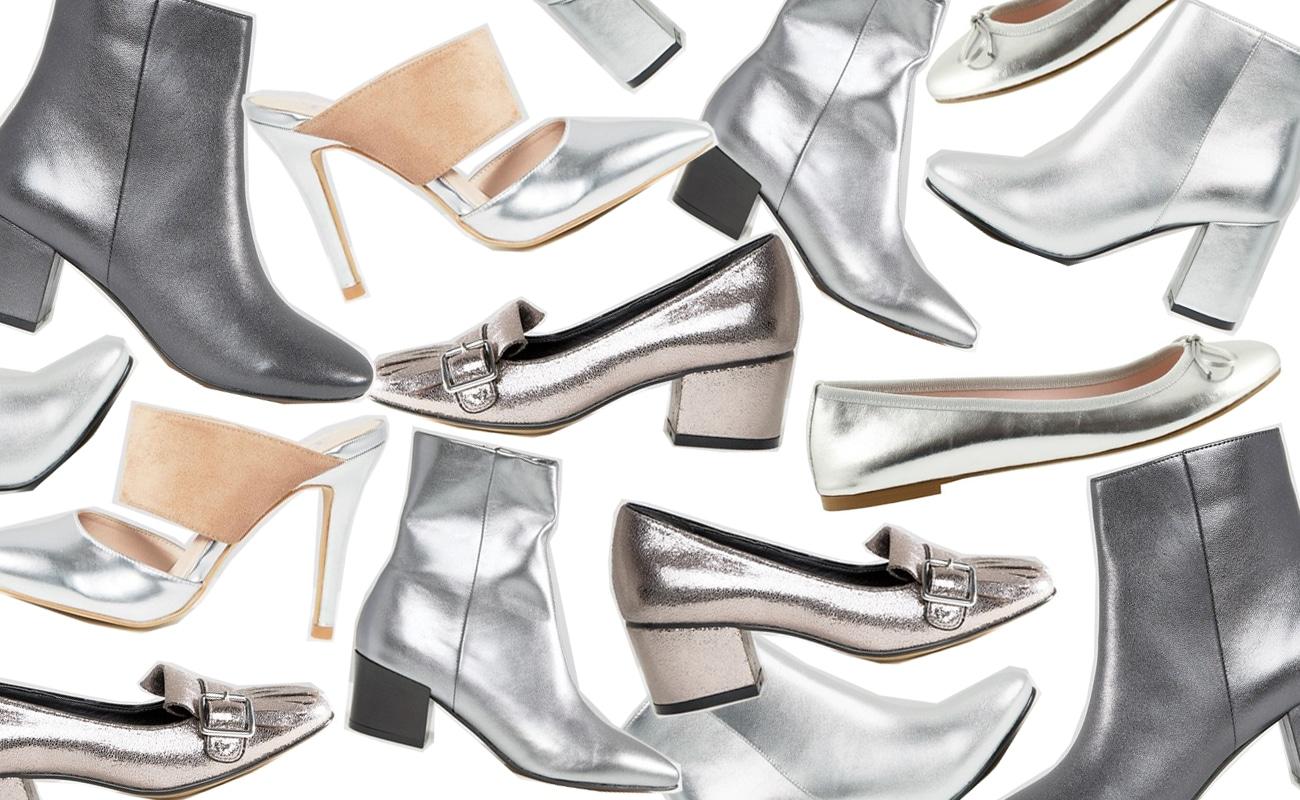 Scarpe metalliche per l'autunno 2016, come indossarle e abbinarle