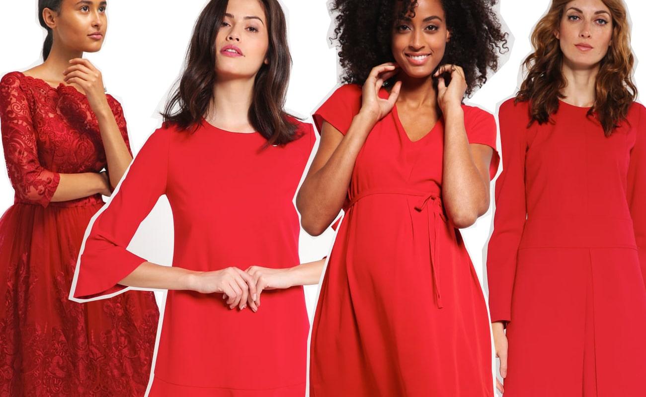 30 vestiti rossi perfetti per Natale 2016