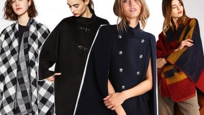 Cappe, mantelle, poncho per l'inverno 2016, trend e abbinamenti