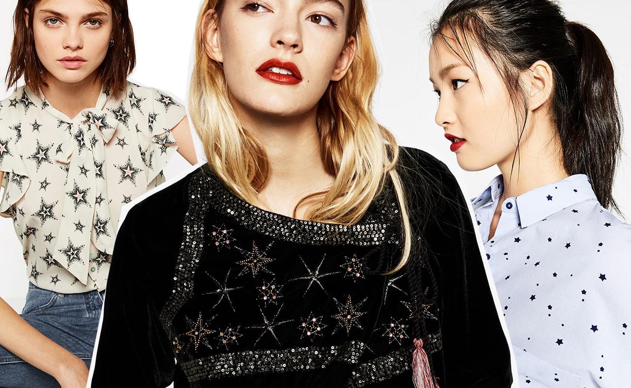 Trend moda: stelle su maglie, giacche, vestiti per l'inverno 2016