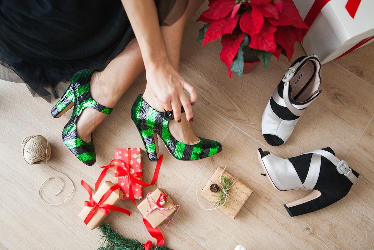 Che scarpe indossare per il pranzo/cena di Natale 2016: due alternative interessanti!