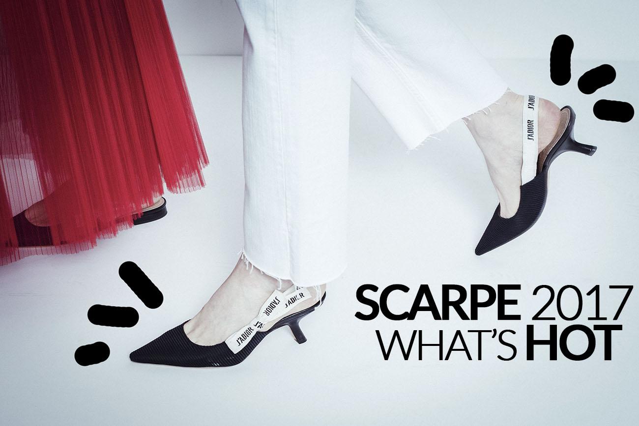 Quali scarpe saranno di moda nel 2017?