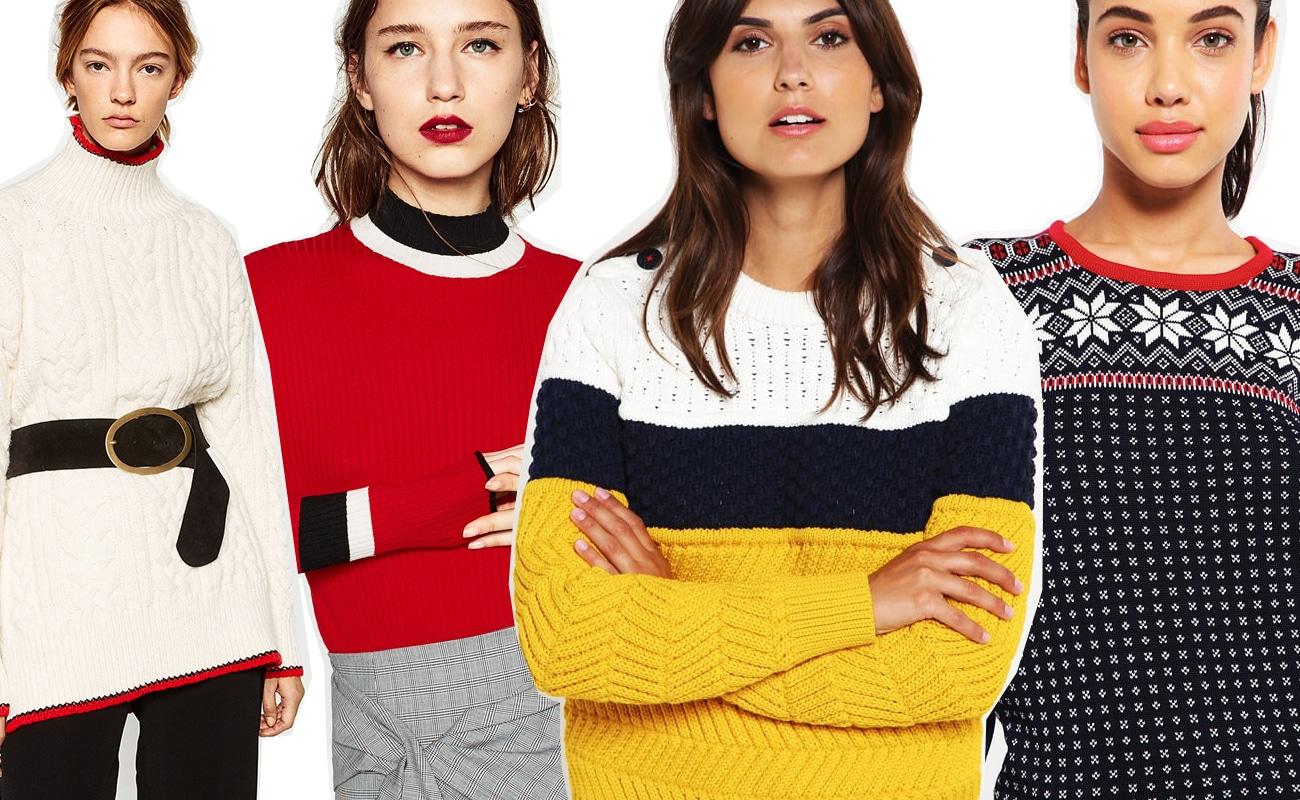 Maglioni di lana grossa in stile alta montagna: non solo per la settimana bianca!