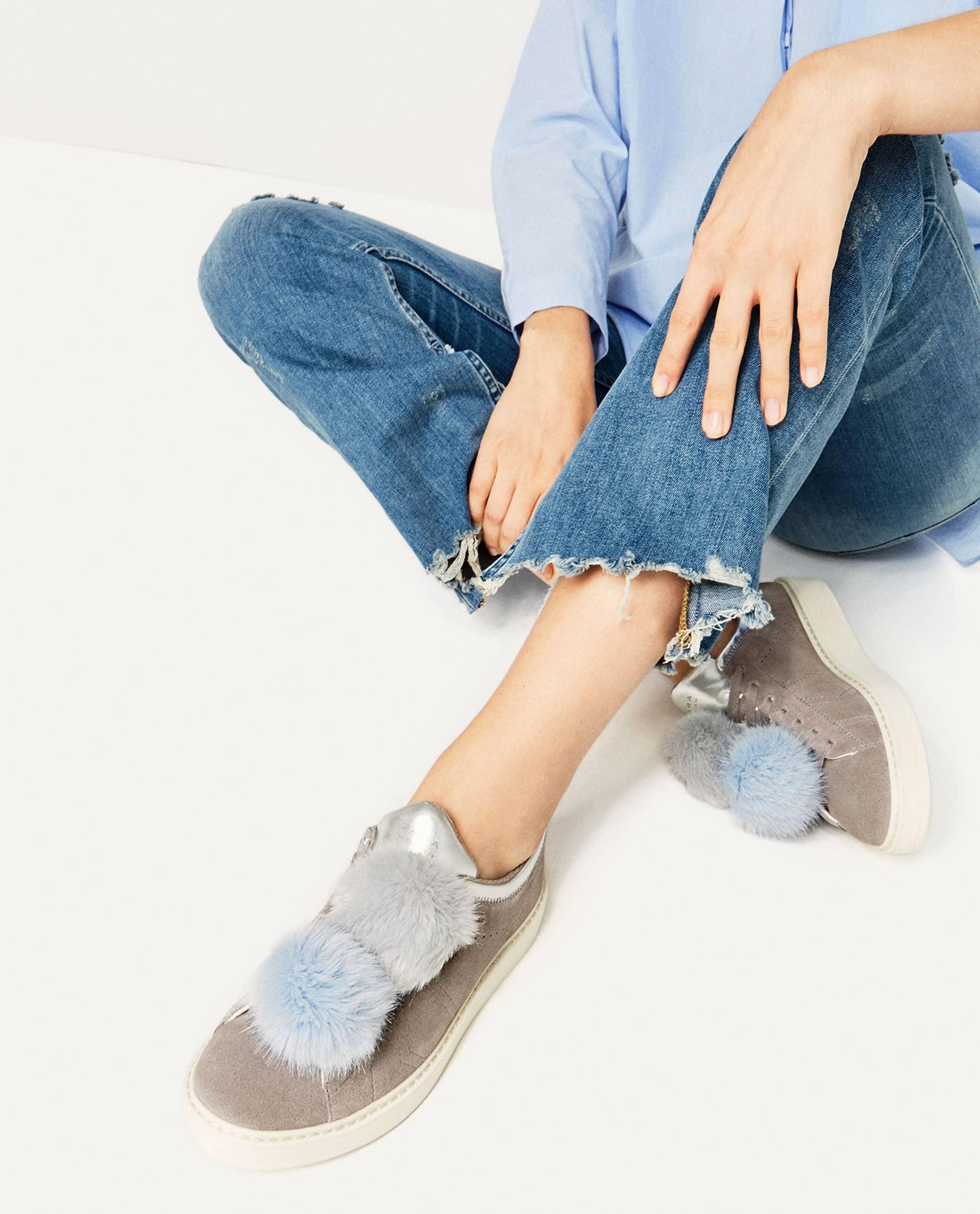Pom Pom mania (ancora) anche sulle sneakers!