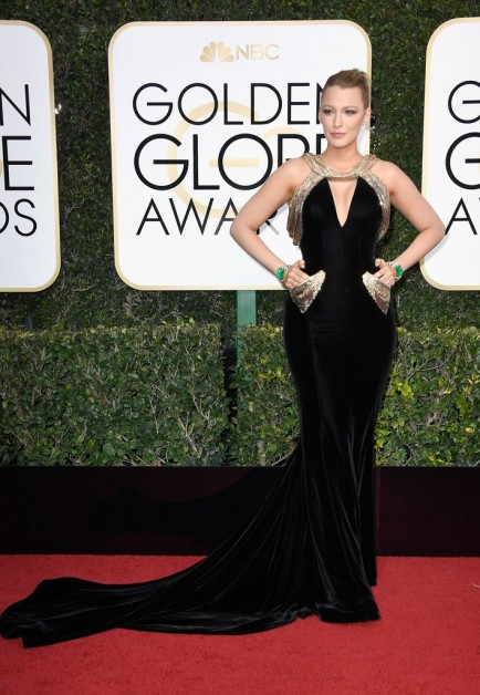 golden globe 2017 look