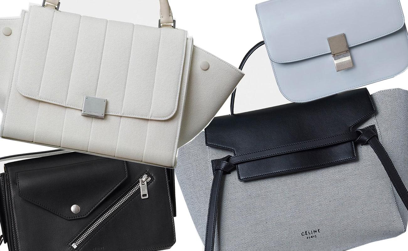Céline, tutte le borse per la primavera 2017