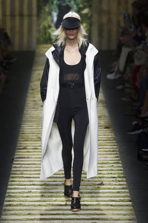 Tendenze moda primavera/estate 2017: bianco e nero sportivo