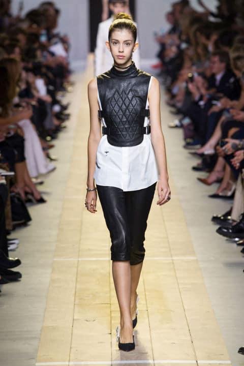 Tendenze moda primavera 2017 bianco e nero sportivo dior