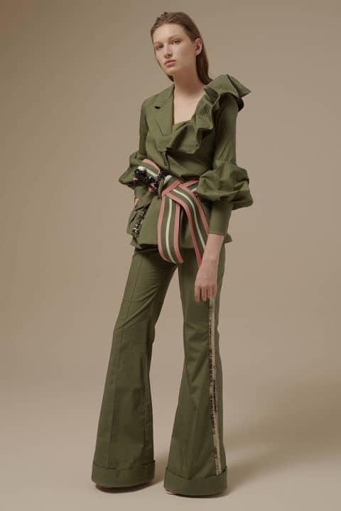 Tendenze moda primavera/estate 2017: colori kakhi e military