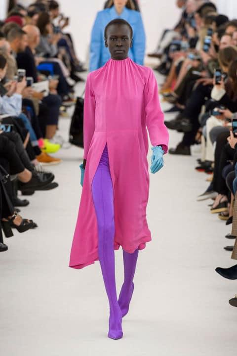 Tendenze moda primavera 2017 rosa balenciaga