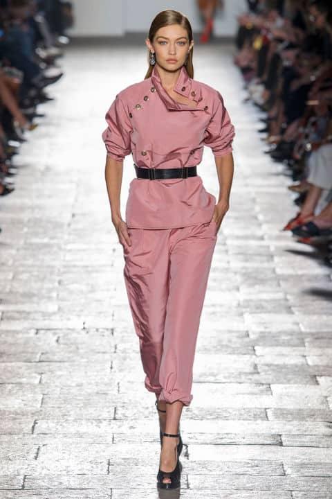 Tendenze moda primavera 2017 rosa polvere