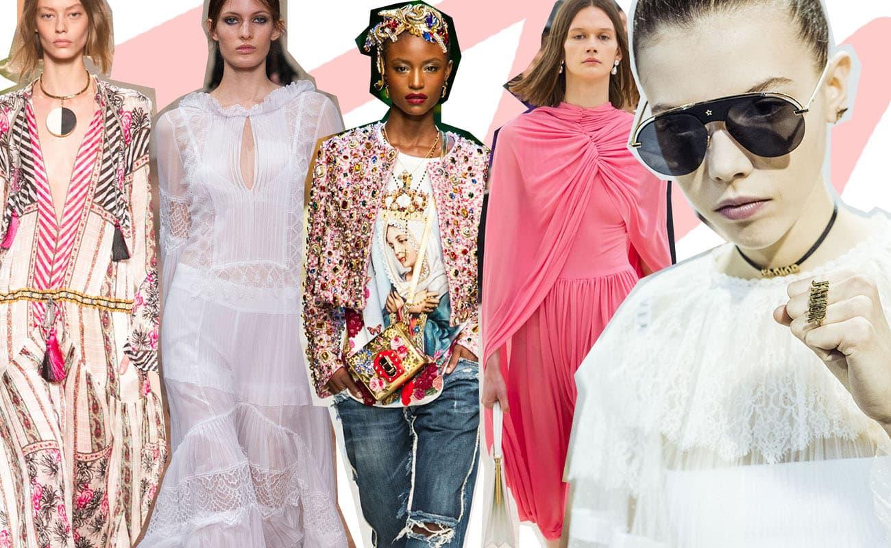 Tendenze moda primavera/estate 2017