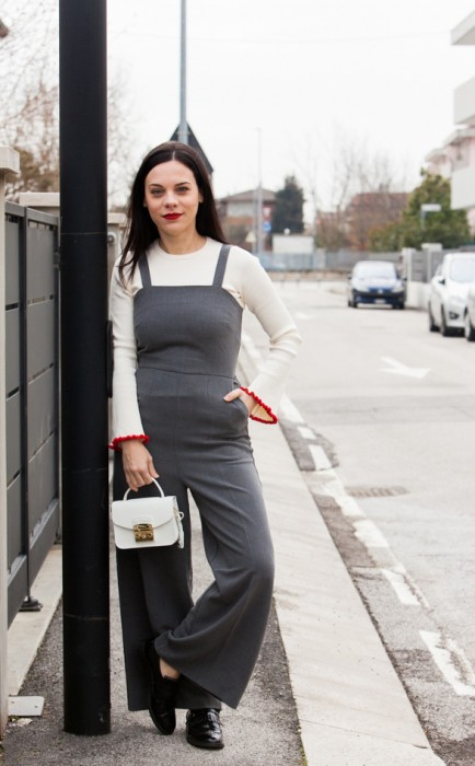 jumpsuit overall outfit elena schiavon