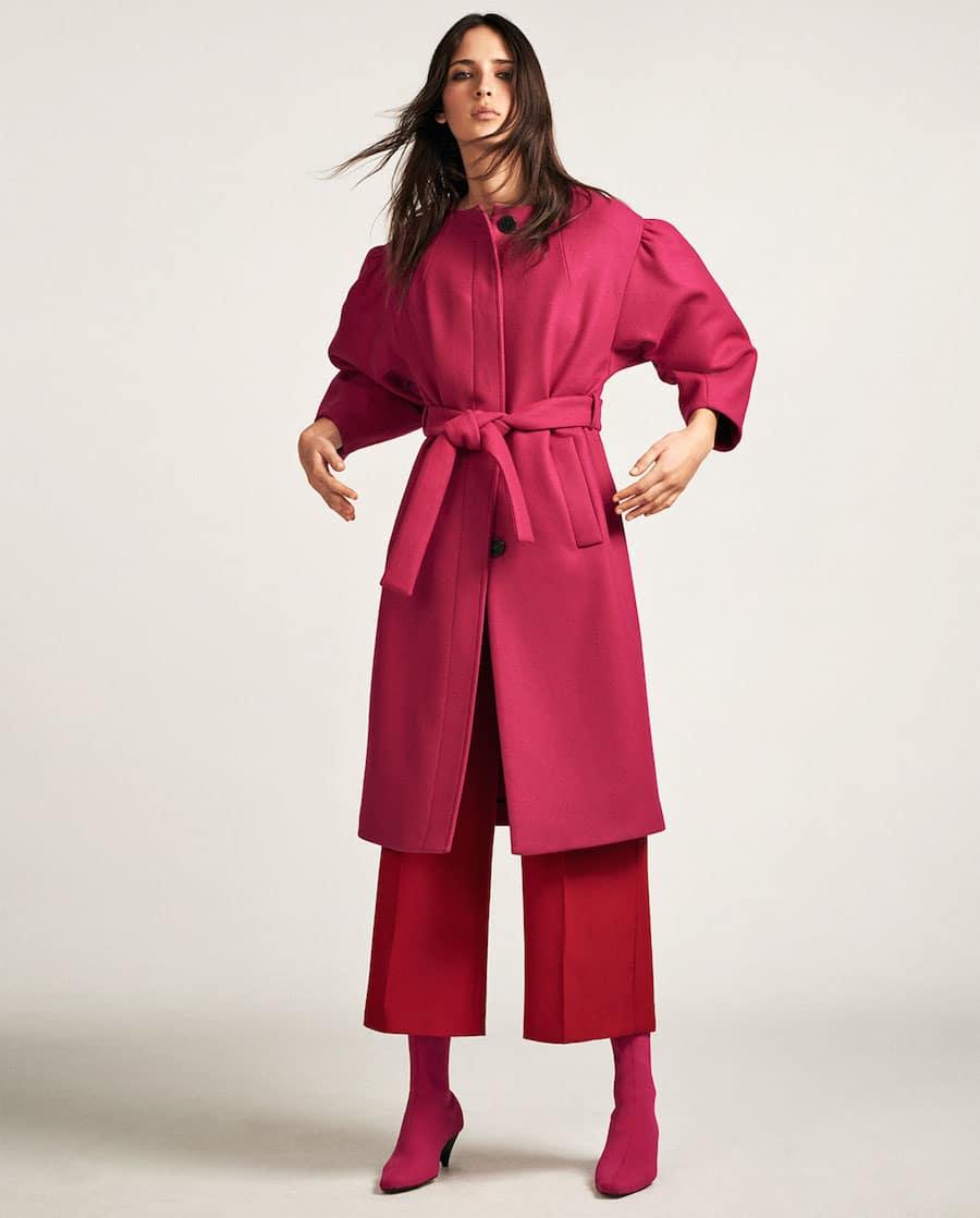 cappotto rosa zara 2017