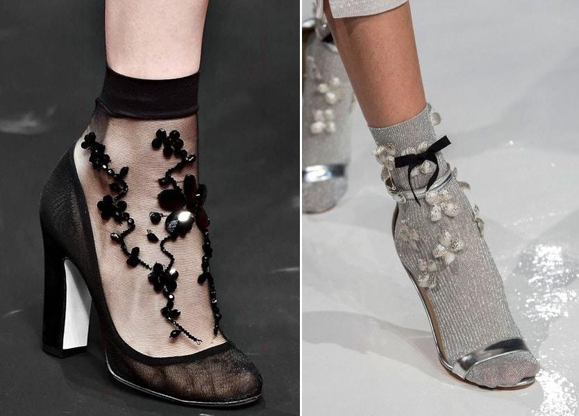 calzini di moda applicazioni