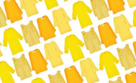 vestiti gialli donna 2017