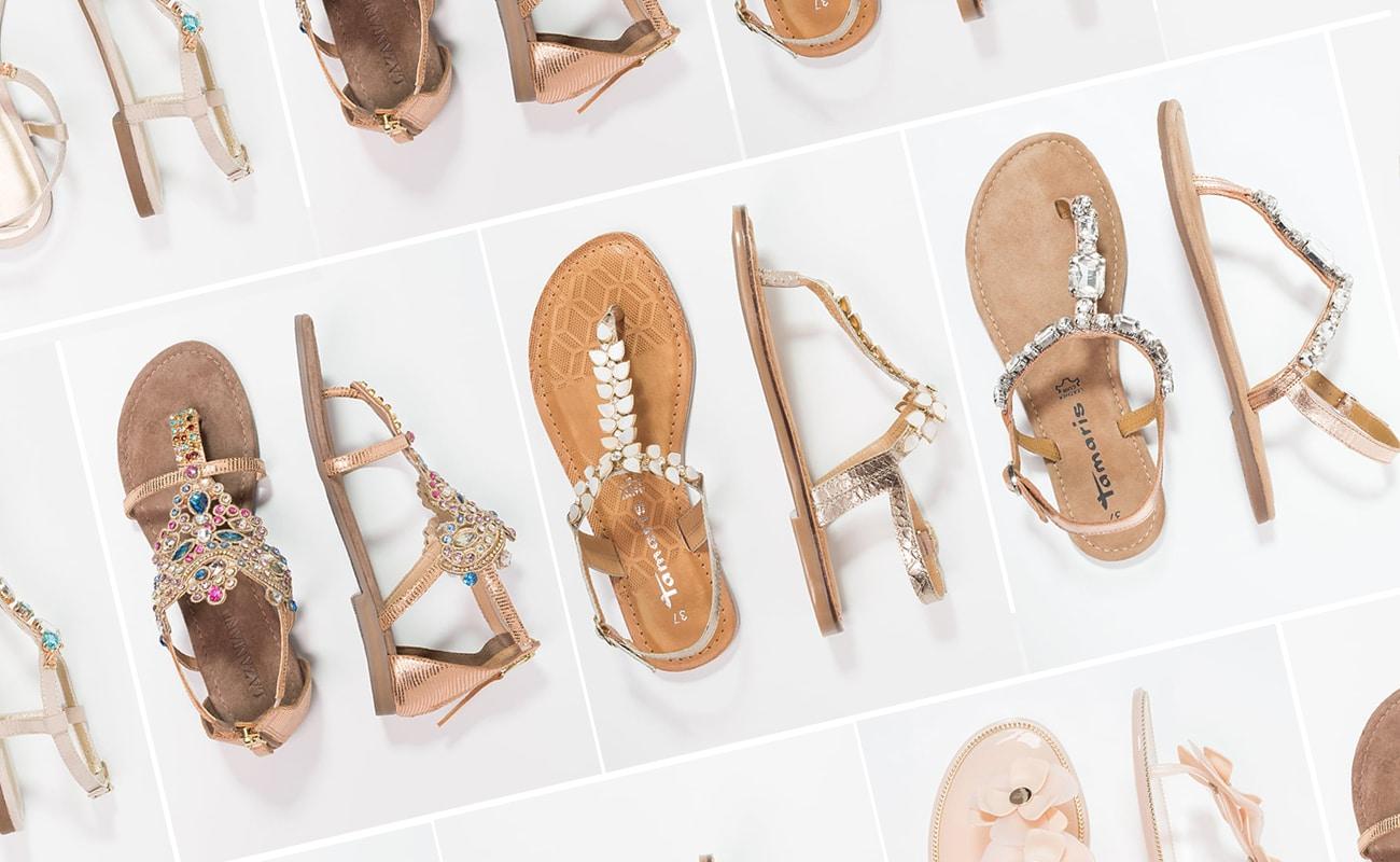Sandali gioiello bassi: 24 nuove idee shopping per l'estate 2017