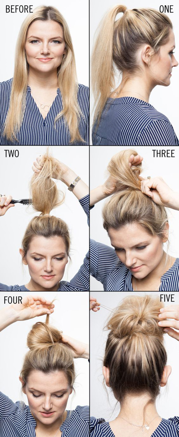 Tutorial chignon