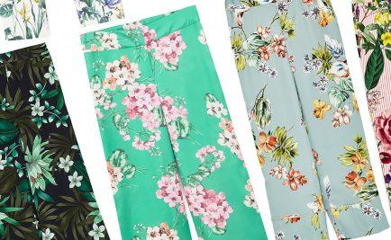 pantaloni a fantasia estate 2017