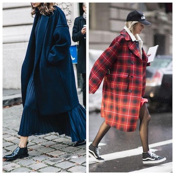 tendenze moda inverno 2017/2018 oversize 2