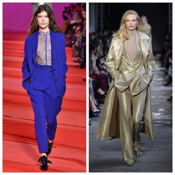 tendenze moda inverno 2017/2018 tailleur 2