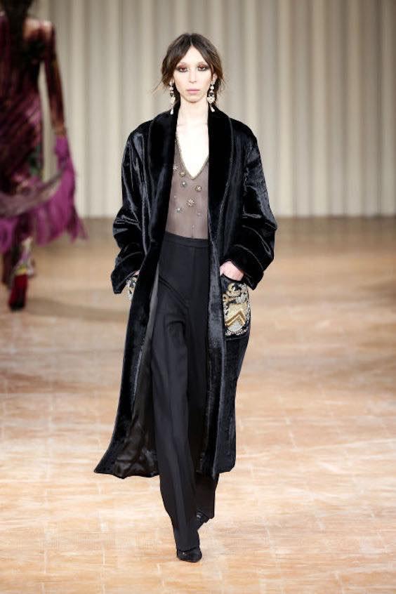 tendenze moda inverno 2017/2018 velluto 1