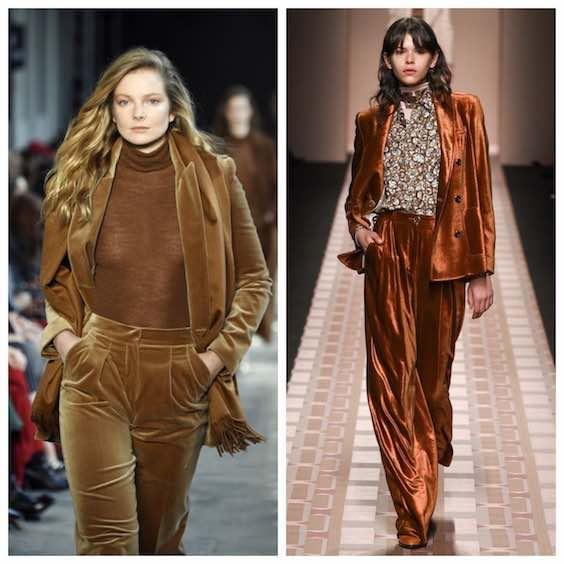 tendenze moda inverno 2017/2018 velluto 2